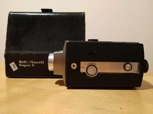 Vintage Bell and Howell Super 8 movie camera