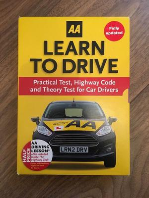 AA Learn to Drive learner driver theory books
