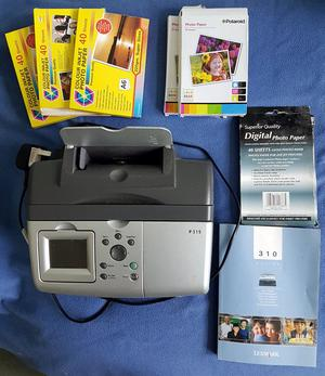 Lexmark P315 Portable Photo Printer - 10x15cm prints - LCD Screen - Card reader