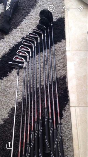 Nearly new Wilson full set of golf clubs for sale used couple of times