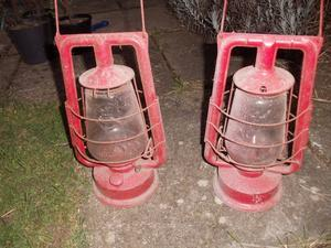 antique highway lamps