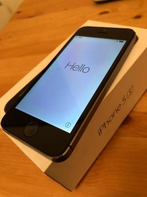 iPhone 5s 32gb Space Grey Free Delivery