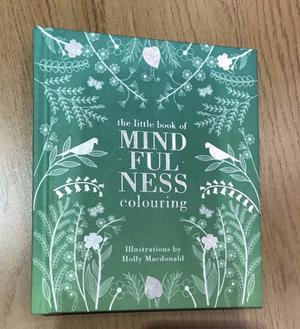 NEW The little book of mindfulness colouring book.