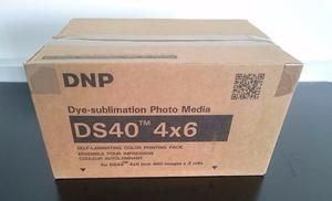 DNP DS40 4x6inch dye sublimation professional photo printing paper (for 800 prints)