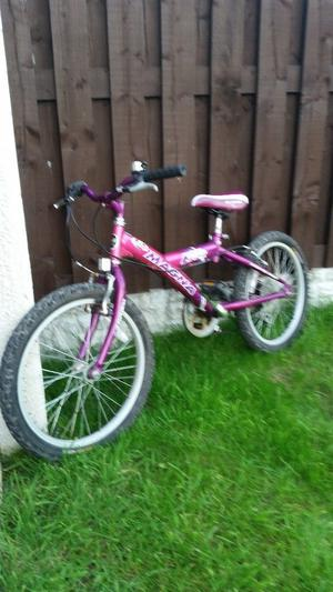 "Girls 20"" Magna bike in excellent condition can deliver for a small charge"