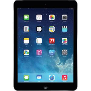 "Apple iPad Air 2 64GB, Wi-Fi, 9.7"" Space Grey with Leather iPad case and two Screen Guards"