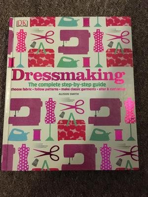 Dk dressmaking book with patterns