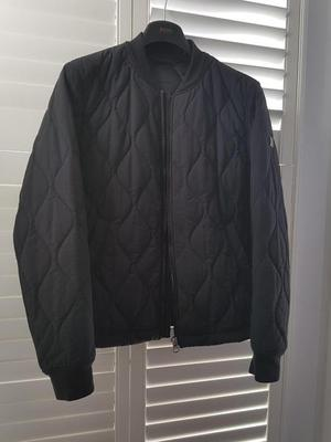 Hugo Boss Jacket Okenzie Quilted Bomber - Mens Size 40 R