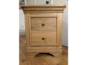 A Pair of Solid Wood Bedside Tables. Excellent Condition. in