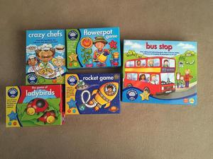 Orchard Toys games £3.00 each