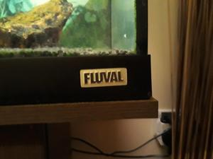 125 ltr Fluval Tropical fish tank and cabinet