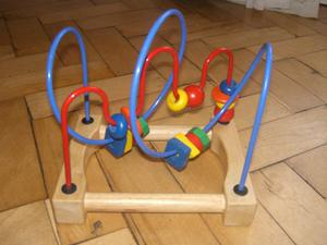 BEADED WOODEN MAZE TOY (30