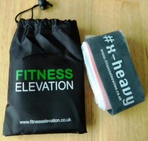 BRAND NEW SET OF FITNESS BANDS BY FITNESS ELEVATION.