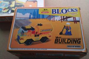 NEW BUILDING BLOCKS BUILD MY WORLD -BUILDING CONSTRUCTION TO