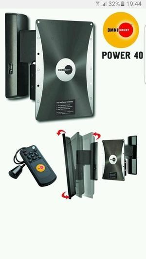 OmniMount Power40 REMOTE Controlled Motorized Tv Mount (Wall Bracket)