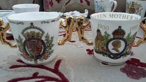 Paragon commerative loving cup x two