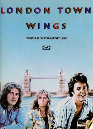 Paul McCartney, Wings Sheet Music London Town  pages