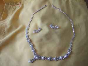 matching monet necklace and earrings