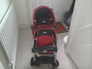 Graco Doll's Twin Stroller