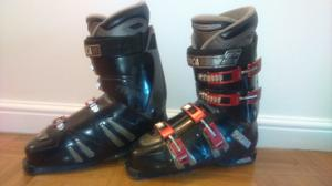 Teknica TNT Icon XR Ultrafit Ski Boots, Size 11.5. Plus Salomon Boot Bag