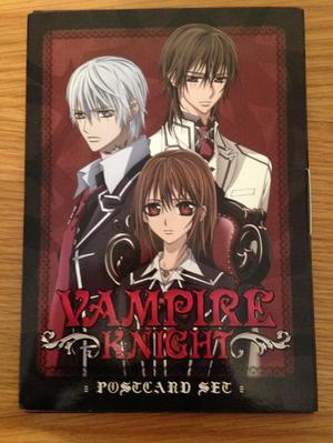 Vampire Knight Picture postcard set. Manga