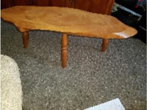 solid oak coffee table in Plymouth