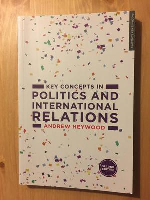 Key Concepts in Politics and International Relations 2nd Ed