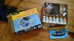 National geographic crystal growing kit