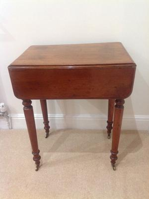 Small Useful Antique occasional table Bedroom / Lounge?