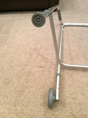 Walking frame zimmer with front wheels FREE collection WA3