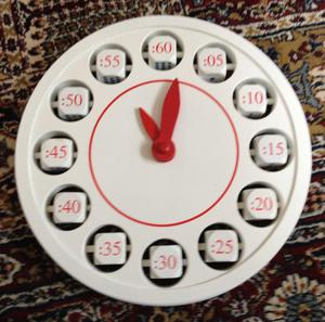 Wooden Clock toy /teaching aid