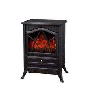 new Electric Fireplace Heater Fire Place Stove Fan Log Burni