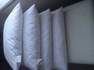 New Set of 4 Duck Feather 45cm X 45cms cushion inserts