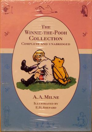 Winnie the Pooh Collection complete and unabridged by A A Milne in the original shrink wrapping