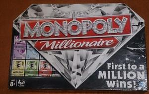 MONOPOLY MILLIONAIRE Board Game - Complete set fun for family English