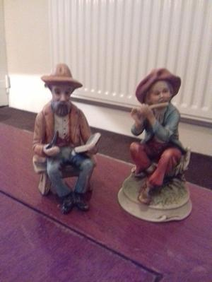 Two Old Men Ornaments