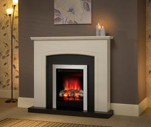 """46""""Hayden Electric Fireplace Suite inSoft"""
