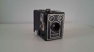 Brownie Six - 20 D Camera With Canvas Case.