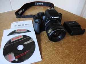 Canon D with Canon EF mm Lens