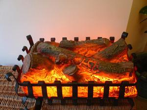 ELECTRIC LOG EFFECT FIRE BASKET