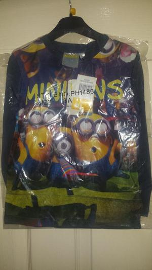 Kids Minions long sleeves sweaters tops 3 to 6 years