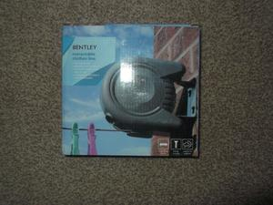 Bentley retractable clothes line - brand new