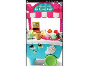 leapfrog scoop and learn ice cream cart in Maidenhead