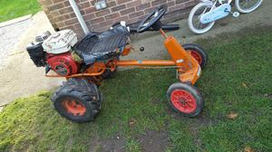 ride on tractor with trailer project