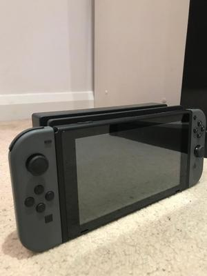 NINTENDO SWITCH (Boxed) GREY WITH DRAGON BALL