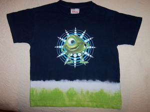 Disney Mikey Monsters Inc. t-shirt. Navy. Unworn. Age 3-4.