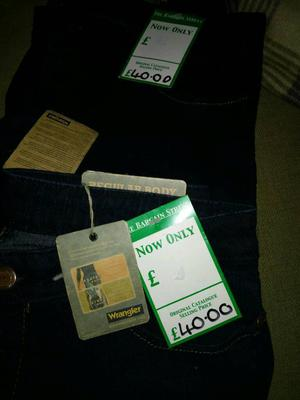 Job lot new jeans with tags £20 the lot
