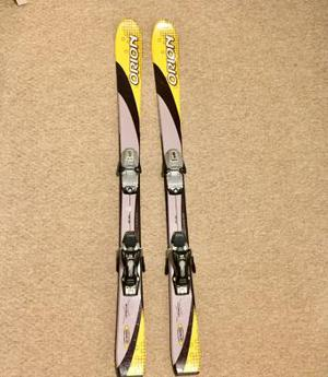 Junior skis Orion 120cm with bindings