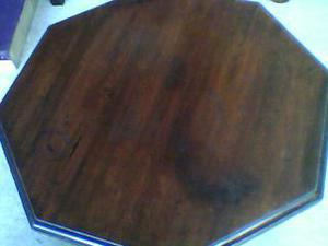 Antique Mahogany Occasional Hexagon Table