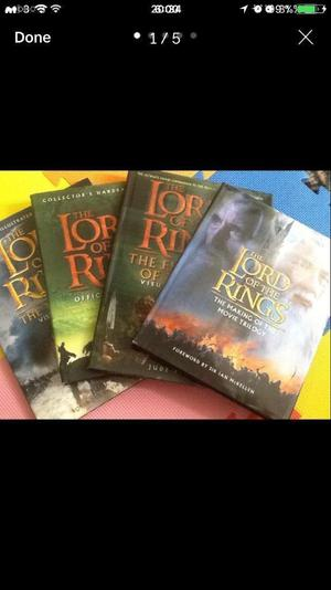 Books about The Lord of the Rings films